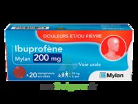 Ibuprofene Mylan 200 Mg, Comprimé Enrobé à UGINE