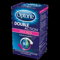 Optone Double Action Solution Oculaire Yeux Secs Fl/10ml à UGINE