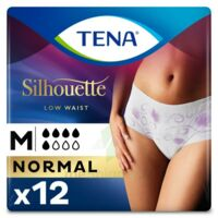 Tena Lady Silhouette Slip Absorbant Blanc Normal Médium Paquet/12 à UGINE