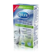 Optone Actimist Spray Oculaire Yeux Fatigués + Inconfort Fl/10ml à UGINE
