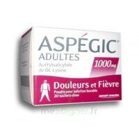 ASPEGIC ADULTES 1000 mg, poudre pour solution buvable en sachet-dose 20 à UGINE