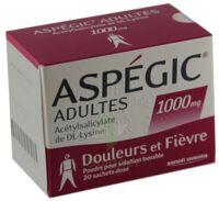Aspegic Adultes 1000 Mg, Poudre Pour Solution Buvable En Sachet-dose 15 à UGINE