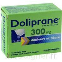 Doliprane 300 Mg Poudre Pour Solution Buvable En Sachet-dose B/12 à UGINE