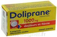 DOLIPRANE 1000 mg Comprimés effervescents sécables T/8 à UGINE