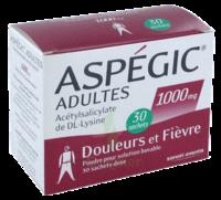 ASPEGIC ADULTES 1000 mg, poudre pour solution buvable en sachet-dose 30 à UGINE