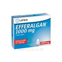 Efferalgan 1000 Mg Comprimés Pelliculés Plq/8 à UGINE