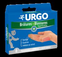 URGO BRULURES-BLESSURES PETIT FORMAT x 6 à UGINE