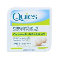 QUIES PROTECTION AUDITIVE CIRE NATURELLE 8 PAIRES à UGINE