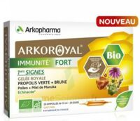 Arkoroyal Immunité Fort Solution Buvable 20 Ampoules/10ml à UGINE