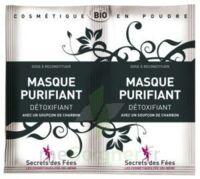 Secrets Des Fées Masque Purifiant Charbon 2sachets/6g à UGINE