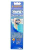 BROSSETTE DE RECHANGE ORAL-B PRECISION CLEAN x 3 à UGINE