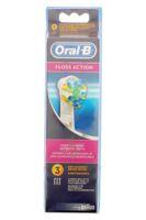 Brossette De Rechange Oral-b Floss Action X 3 à UGINE
