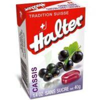 Halter Bonbon sans sucre cassis 40g à UGINE