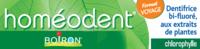 Boiron Homéodent Soin Complet Dents et Gencives Pâte Dentifrice Chlorophylle Format Voyage T/25ml à UGINE