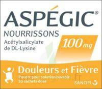 Aspegic Nourrissons 100 Mg, Poudre Pour Solution Buvable En Sachet-dose à UGINE