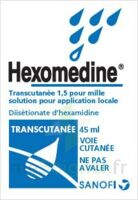 HEXOMEDINE TRANSCUTANEE 1,5 POUR MILLE, solution pour application locale à UGINE