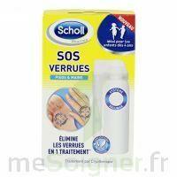 Scholl SOS Verrues traitement pieds et mains à UGINE