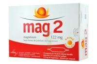 MAG 2 122 mg S buv en ampoule sans sucre édulcoré à la saccharine sodique 30Amp/10ml à UGINE
