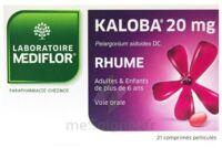 KALOBA 20 mg Comprimé pelliculé Plq/21 à UGINE