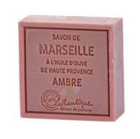 Savon De Marseille Ambre - Pain De 100g