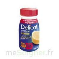 Delical Boisson Hp Hc Concentree Nutriment Vanille 4bouteilles/200ml à UGINE