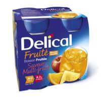 DELICAL BOISSON FRUITEE Nutriment multi fruits 4Bouteilles/200ml à UGINE