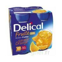 DELICAL BOISSON FRUITEE Nutriment orange 4Bouteilles/200ml à UGINE