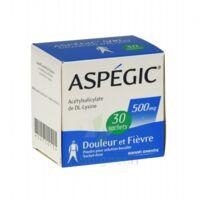ASPEGIC 500 mg, poudre pour solution buvable en sachet-dose 30 à UGINE
