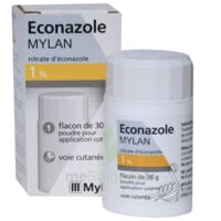 Econazole Mylan 1 % Pdr Appl Cut Fl/30g à UGINE