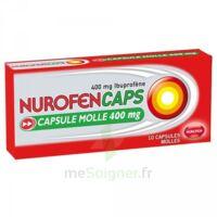 Nurofencaps 400 Mg Caps Molle Plq/10 à UGINE