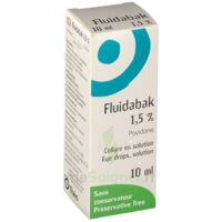 FLUIDABAK 1,5 %, collyre en solution à UGINE