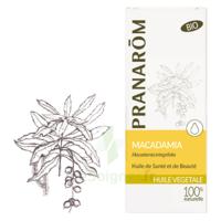 PRANAROM Huile végétale bio Macadamia 50ml à UGINE