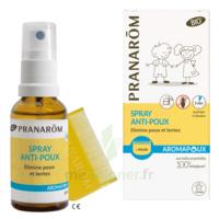 Pranarôm Aromapoux Bio Spray anti-poux 30ml+peigne à UGINE