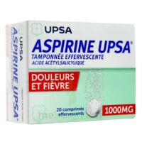 Aspirine Upsa Tamponnee Effervescente 1000 Mg, Comprimé Effervescent à UGINE