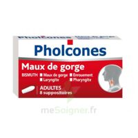 PHOLCONES BISMUTH ADULTES, suppositoire à UGINE