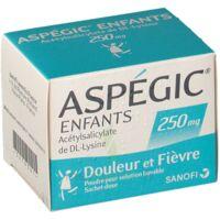 ASPEGIC ENFANTS 250, poudre pour solution buvable en sachet-dose à UGINE