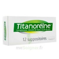 TITANOREINE Suppositoires B/12 à UGINE