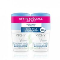 Vichy Déodorant sans sels d'aluminium 48H 2 Billes/50ml à UGINE