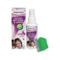 Paranix Solution antipoux Huiles essentielles 100ml+peigne à UGINE