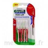 GUM TRAV - LER, 0,8 mm, manche rouge , blister 4 à UGINE