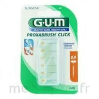 Gum Proxabrush Click, 0,9 Mm, Ocre Jaune , Blister 6 à UGINE