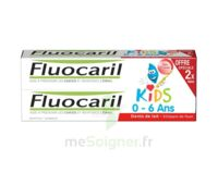 Fluocaril Kids Gel dentifrice Fraise 0/6ans 2*50ml à UGINE