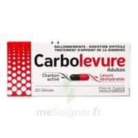 CARBOLEVURE Gélules adulte Plq/30 à UGINE
