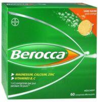 Berocca Comprimés effervescents sans sucre T/60 à UGINE