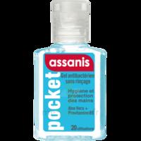 Assanis Pocket Gel antibactérien mains 20ml à UGINE