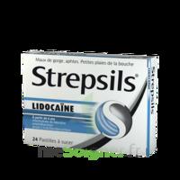 Strepsils lidocaïne Pastilles Plq/24 à UGINE