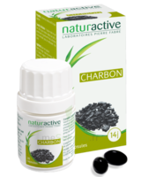 Naturactive Phytothérapie Charbon végétal Caps B/28 à UGINE