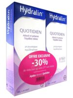 Hydralin Quotidien Gel lavant usage intime 2*200ml à UGINE