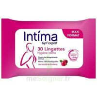 Intima Gyn'expert Lingettes Cranberry Paquet/30 à UGINE