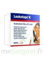 LEUKOTAPE K Sparadrap noir 5cmx5m à UGINE